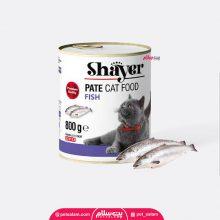 کنسرو گربه با طعم ماهی