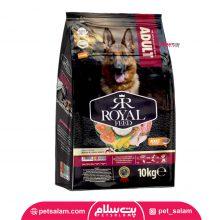 غذای خشک رویال فید مخصوص سگ های بالغ نژاد بزرگ ۱۰ کیلو گرمی
