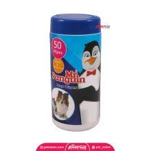 دستمال مرطوب مخصوص حیوانات