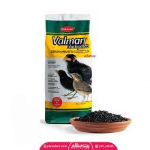 غذای مرغ مینا پادوان مدل valman black pellets
